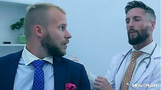 DR NICK NORTH EXAMINES MALEK TOBIAS' ASS
