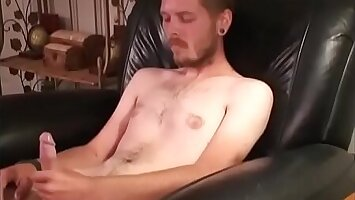 RoughHairy.com - Filthy Straight vagrants guy strokes his hairy meat for cash