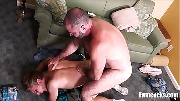 Dad Buys Briefs For Son And Ends Up Fucking Him