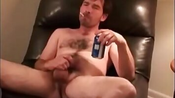 RoughHairy.com- Hairy White Trash in Boxer Shorts